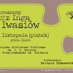 Wieczór autorski z Ingą Iwasiów