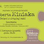 Promocja książki Roberta Miniaka – Święci z drugiej ręki