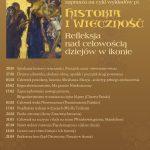 """Cykl wykładów """"Historia i wieczność – refleksja nad celowością dziejów w ikonie"""""""