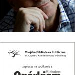 Michał Ogórek – spotkanie autorskie
