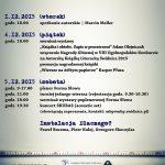 VIII Biesiada Literacka – zaproszenie na wydarzenia