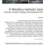 11.03.2016 r./Metafory realności 2014