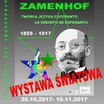 """ZAMENHOF – TWÓRCA JĘZYKA ESPERANTO"""