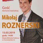 Mikołaj Roznerski – zaproszenie na spotkanie