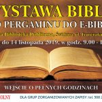 OD PERGAMINU DO E-BIBLII – wystawa Biblii