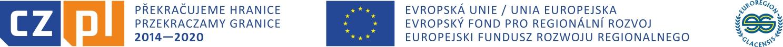 Logo - Przekraczamy Granice - Europejski Fundusz Rozwoju Regionalnego