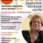 Spotkanie autorskie z Ireną Raszką