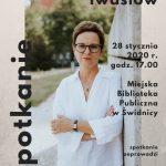 Inga Iwasiów | spotkanie autorskie