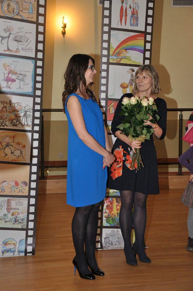 Na zdjęciu: Joanna Zagner-Kołat, Adriana Miara