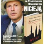 Zaproszenie na spotkanie autorskie ze Stanisławem Sławomirem Nicieją