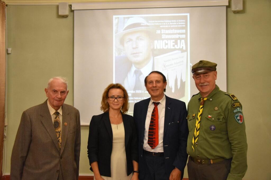 Spotkanie autorskie ze Stanisławem Sławomirem Nicieją