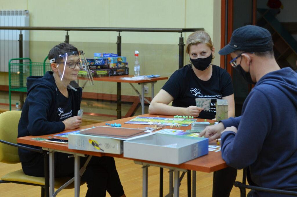 Spotkanie klubu gier planszowych KOSTKA