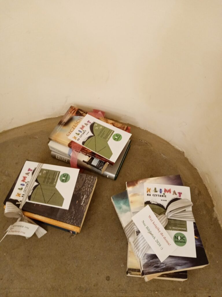 Bookcrossing - zabierz książkę do domu