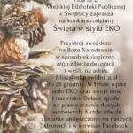 """""""Święta w stylu eko"""" -konkurs"""