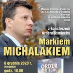 Spotkanie autorskie z Markiem Michalakiem – online
