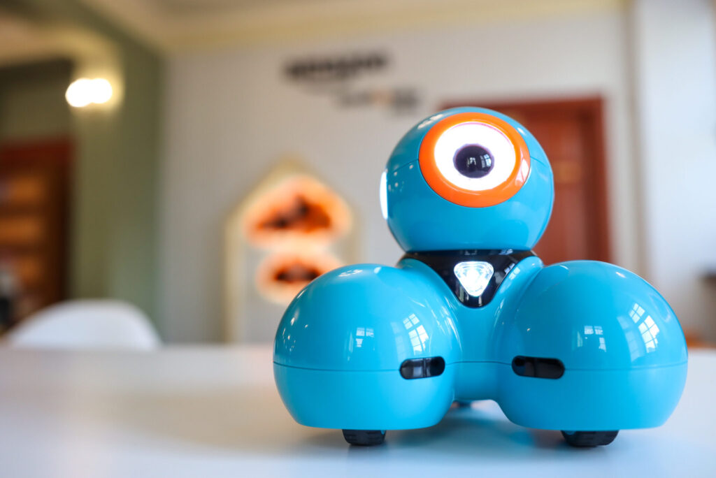 pomieszczenie - kindloteka - robot