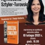 Spotkanie autorskie online z Agnieszką Sztyler-Turovsky – zaproszenie