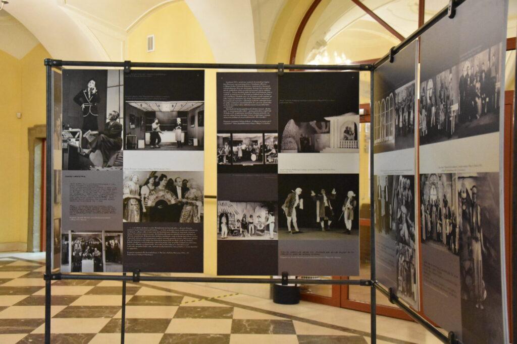 """wystawa """"Polski teatr w obozoach jenieckich Wehrmachtu (1939-1945)"""