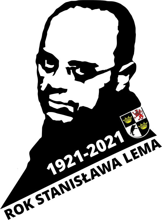 logo czarno białe rok lema