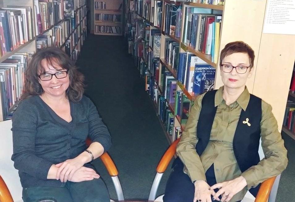 Spotkanie autorskie - Barbara Elmanowska rozmawia z Ingą Iwasiów