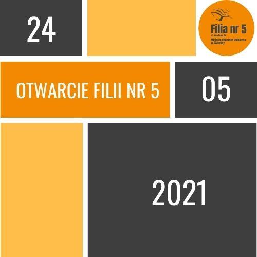 ikona informująca o otwarciu filii nr 5