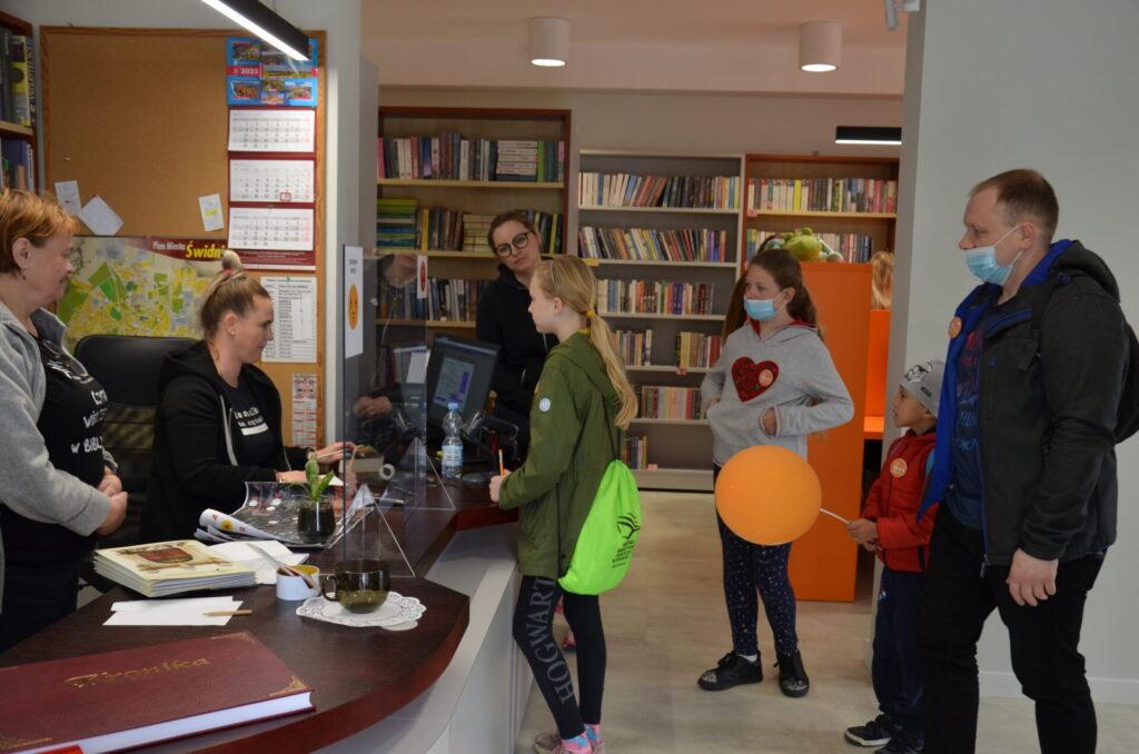 Drużyny w bibliotece