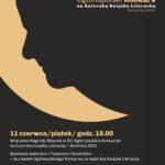 XIV Ogólnopolski Konkurs na Autorską Książkę Literacką – Świdnica 2021 – wręczenie nagrody – zaproszenie