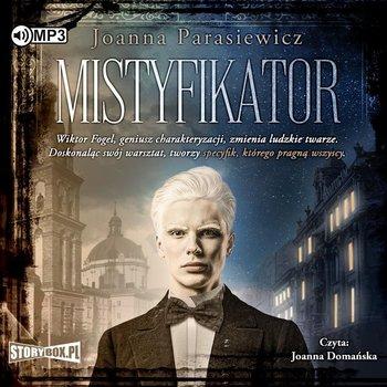 okładka audiobooka joanna parsiewicz mistyfikator