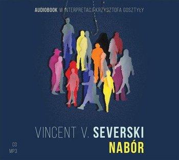 okładka audiobooka vincent severski nabór