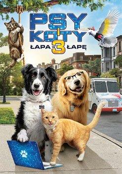 okładka filmu psy i koty 3 łapa w łapę