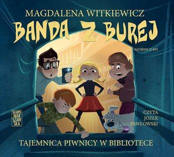 okładka audiobooka magdalena witkiewicz banda z burej