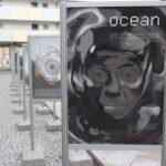 """""""Ocean"""" – niezwykła wystawa inspirowana twórczością Lema w bibliotece"""