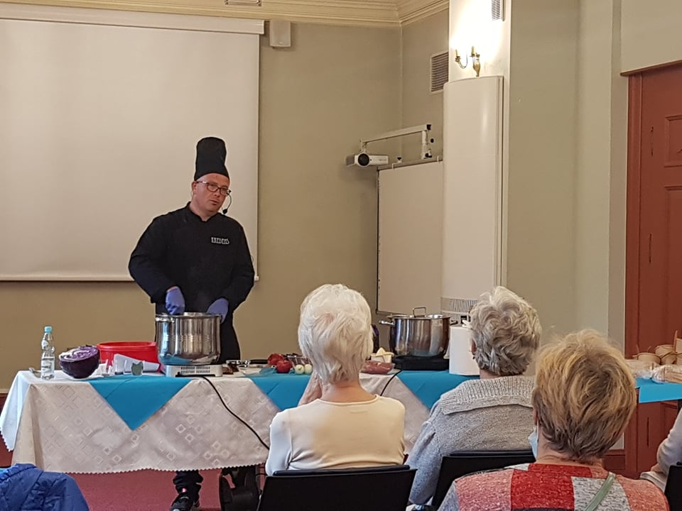 Europejskie Dni Dziedzictwa - spotkanie w sali cysterskiej z kucharzem
