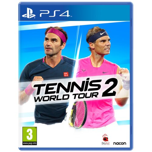 okładka gry na PS4 tennis world tour 2