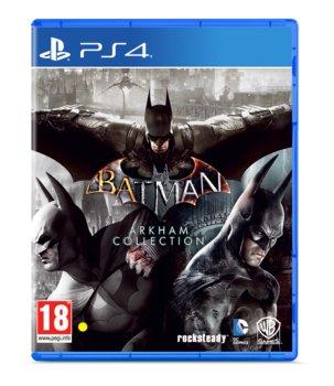 okładka gry na PS4 batman