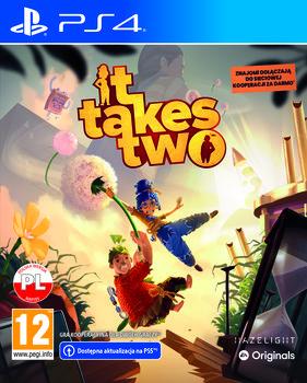 okładka gry na PS4 it takes two
