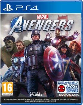 okładka gry na PS4 avengers