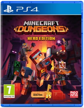 okładka gry na PS4 minecraft dyngeons