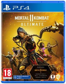 okładka gry na PS4 mortal kombat ultimate II