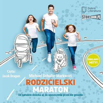 okładka audiobooka tytuł rodzicielski maraton autor michael schulte-markwort