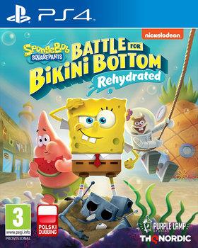 okładka gry na PS4 spongebob battle for bikini bottom