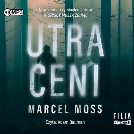 okładka audiobooka tytuł Utraceni autor marcel moss