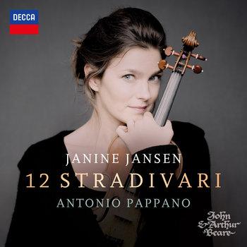 okładka płyty muzycznej tytuł 12 stradivari wykonawca janine jansen