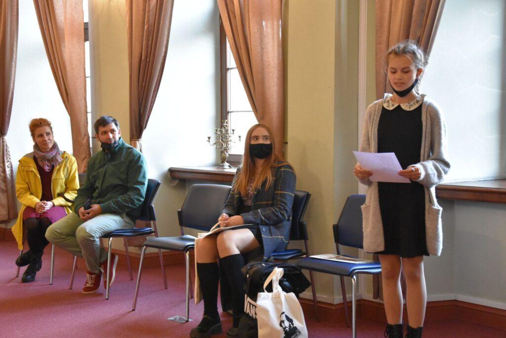 """Wręczenie nagród w konkursie """"Cerebron""""Lem w poezji, filmie i hip-hopie."""