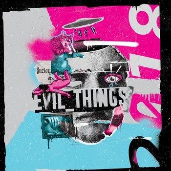 okładka płyty muzycznej tytuł evil things wykonawca guzior